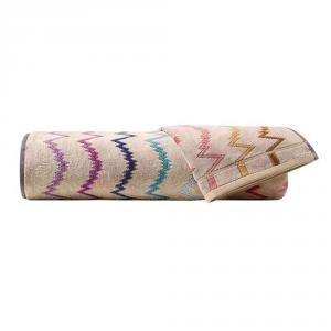 Set Asciugamani Missoni 1 asciugamano + 1 ospite VERA 100 multicolore