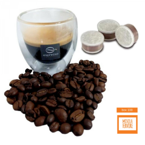 100 capsule caffè compatibili Lavazza Espresso Point