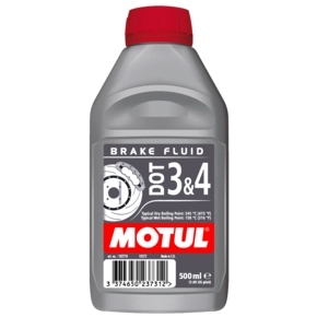 DOT 3 & 4 Brake Fluid OLIO FRENI MOTUL SINTETICO