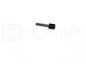 Ingranaggio contachilometri Vespa 125/150 - quadro mm 2,7 - Z9 - Nero