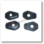 SUPPORTI FRECCE BKR SUZUKI GSX R 01- NERO 4PZ