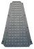 Tappetino centrale in gomma Piaggio Vespa Px 125-150-200cc