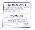 Targhetta blu rodaggio Piaggio Vespa 50-90-125 Primavera-Et3