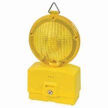 Lampeggiante giallo luce intermittente