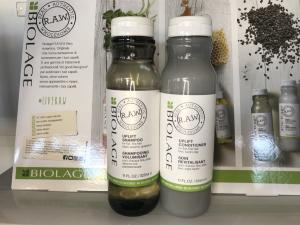 Shampoo e Conditioner Biolage R.A.W.  -  Capelli Sensibilizzati