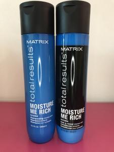 Linea Total Results: moisture me rich - Shampoo e conditioner