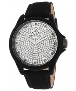 TOYWATCH PEACH - TOTAL BLACK CON SWAROVSKI