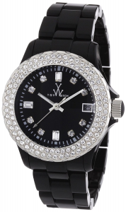 TOYWATCH PLASTERAMIC BLACK CON SWAROVSKI