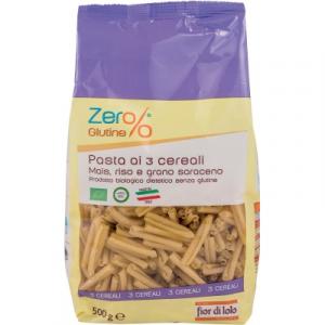 Pasta ai 3 Cerali Mais, Riso e Grano Saraceno Strozzapreti Gluten Free