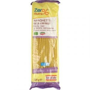 Pasta ai 3 Cerali Mais, Riso e Grano Saraceno Spaghetti Gluten Free