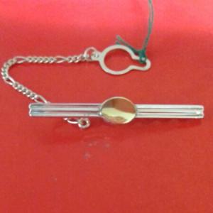 Ferma Cravatta in argento e oro vendita on line | GIOIELLERIA BRUNI Imperia