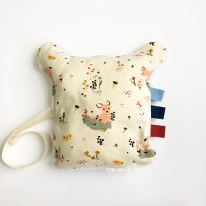 Soft dou-dou teddy bear in organic cotton