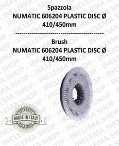 Cepillo Standard PPL 0.3 WHITE para fregadora NUMATIC