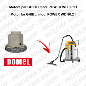 POWER WD 80.2 I DOMEL VACUUM MOTOR for vacuum cleaner GHIBLI