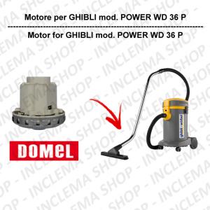 POWER WD 36 P Saugmotor DOMEL für staubsauger GHIBLI