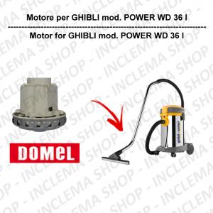 POWER WD 36 I motor de aspiración DOMEL para aspiradora GHIBLI