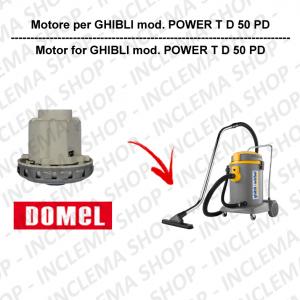 POWER T D 50 PD motor de aspiración DOMEL para aspiradora GHIBLI