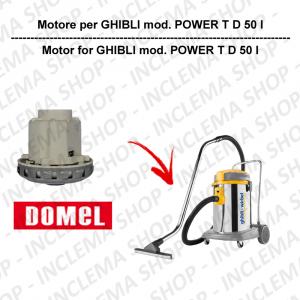 POWER T D 50 I motor de aspiración DOMEL para aspiradora GHIBLI