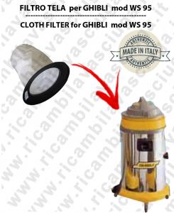WS 95 Filtre Toile pour aspirateur GHIBLI