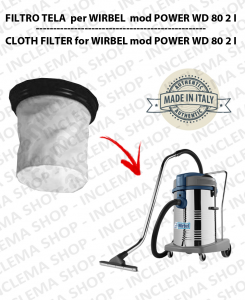 POWER WD 2 I Canvas Filter for vacuum cleaner WIRBEL