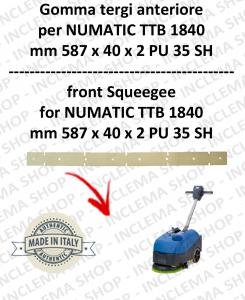 goma de secado delantera para fregadora NUMATIC mod. TTB 1840