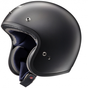 Casco jet Arai FREEWAY CLASSIC FROST in fibra Nero
