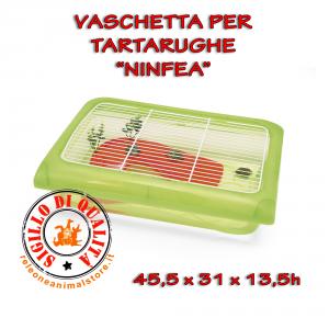 Vaschetta per Tartarughe con Griglia NINFEA Imac