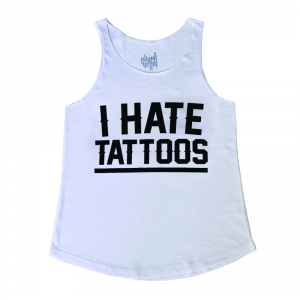 Canotta I HATE TATTOOS