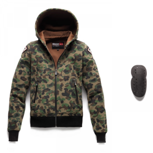 Giacca moto Blauer EASY MAN 1.1 in Softshell camouflage