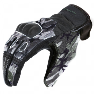 Guanti moto estivi VQuattro Wild Camouflage Grigio