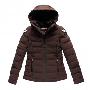 Giacca moto donna Blauer Easy Winter Woman 1.0 marrone buffalo