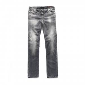 Jeans moto donna Blauer HT Scarlett grigio
