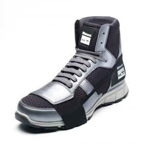 Scarpe moto Blauer HT01 grigio nero suola grigia