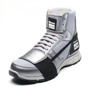 Scarpe moto Blauer HT01 grigio grigio chiaro suola grigia
