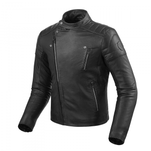 Giacca moto pelle Rev'it Vaughn Nero