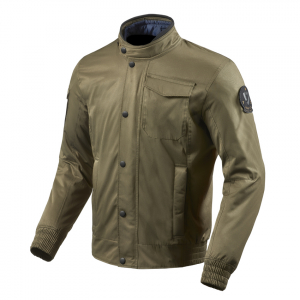 Giacca moto Rev'it Millburn Army Green