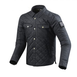 Sovracamicia moto Rev'it Westport Blu scuro omogeneo