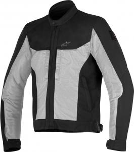 Giacca moto estiva Alpinestars LUC AIR nero grigio chiaro