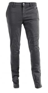 Pantaloni moto donna Pmj - Promo Jeans Santiago grigio