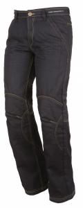 Jeans moto Modeka Denver Wax blu