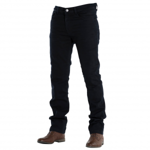 Jeans moto Overlap Street Dark con rinforzi in fibra Aramidica nero
