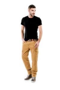 Pantaloni moto Motto HELIOS con rinforzi in fibra Aramidica sabbia