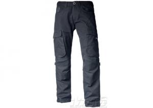 Pantaloni moto Motto RAMBLER con rinforzi in fibra Aramidica nero