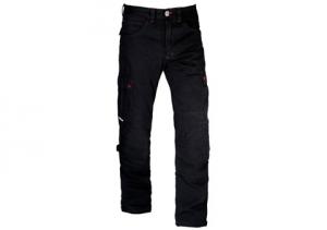 Jeans moto Motto COMBAT con rinforzi in fibra Aramidica nero