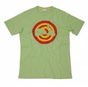 T-shirt Vespa Target verde