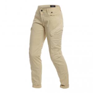 Pantaloni moto donna Dainese KARGO LADY sabbia