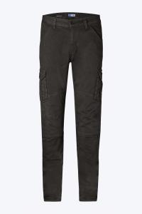 Pantaloni moto PMJ-Promo Jeans Santiago Nero