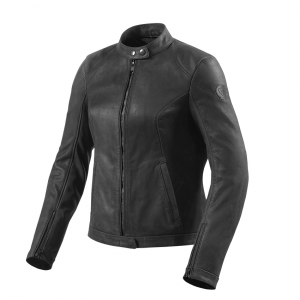 Giacca moto donna pelle Rev'it Rosa Ladies Nero