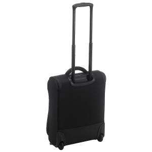Delsey - U Lite - Trolley da cabina slim 55 cm 2 ruote morbido nero cod. 2245723