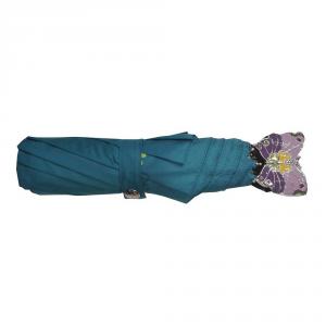 Braccialini - Ombrello mini azzurro con stampa farfalla cod. BC805/2